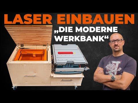 Jetzt bauen wir den Laser in die Werkbank! MR Beam macht es jetzt wohl zur modernsten Werkbank