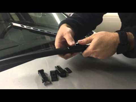 Michelin Stealth Windshield Wiper Installation (Side Lock) - 2007 BMW 530i