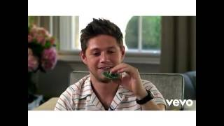 Niall Horan Playing with Spinner 💟