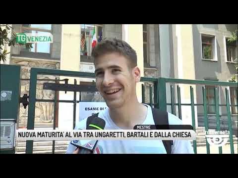 TG VENEZIA (19/06/2019) - NUOVA MATURITA' AL VIA T...