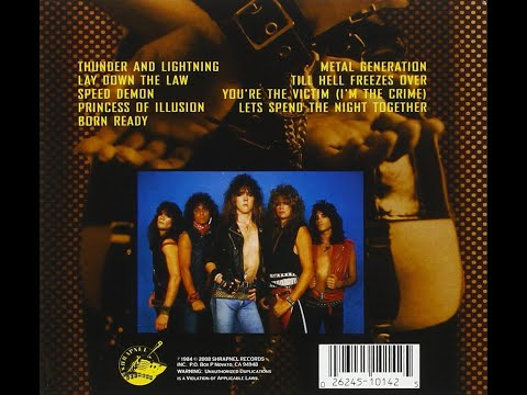 KEEL Lay Down the Law (Full Album) mp3