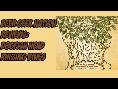 Dogfish Head Life & Limb Rhizing Bines Imperial IPA | Beer Geek Nation Craft Beer Reviews