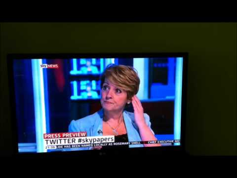 Anne Diamond - Sky News Review July