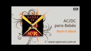 AC/DC para Bebés - Back in black