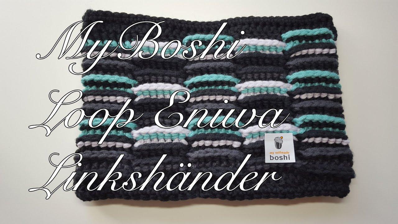 Myboshi Loop Schal Eniwa Häkelanleitung Für Fortgeschrittene Für