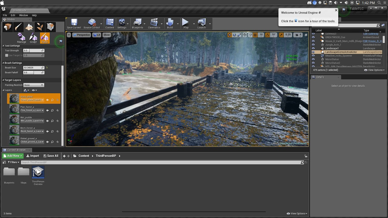 Unreal Engine 4 Is sorta Fixed in linux ?? – Linux directory