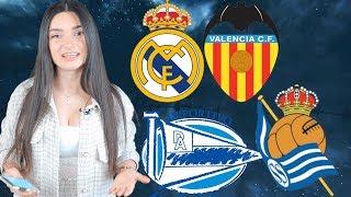 Реал Мадрид Валенсия Алавес Реал Сосьедад Прогноз экспресс Примера Испания Футбол