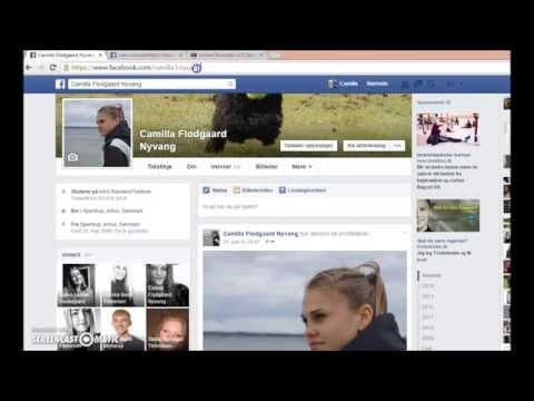 Hvem stalker mig på Facebook?