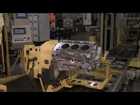 Assembling a V6 Engine