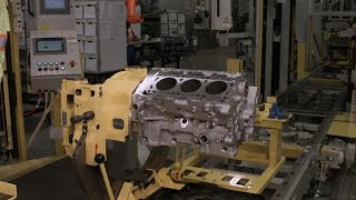 Assembling a V6 Engine