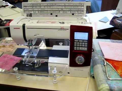Janome Horizon MC40 OverView YouTube Classy Janome 4618 Sewing Machine Reviews