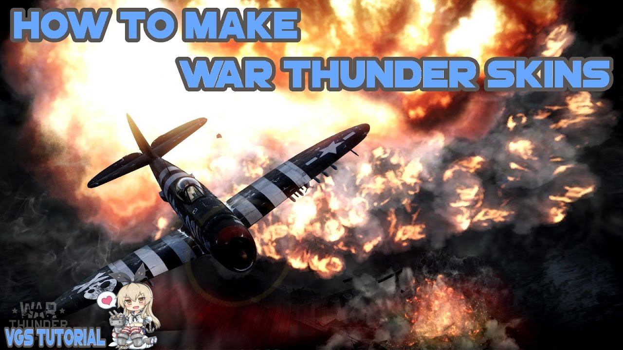 war thunder how to make skins