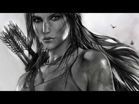 02d234a6a9 Desenhando Lara Croft, Tomb Raider | Drawing Lara Croft, Tomb Raider -  YouTube