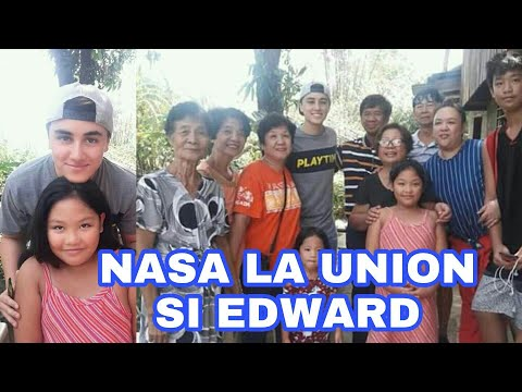 Edward with his Relatives in La Union November 1, 2018