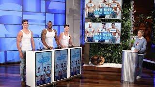Ellen Challenges More Hotties in Hubba Hubba Quiz Quiz