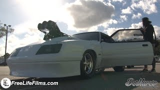 White Girl Wasted Blown Foxbody Mustang!