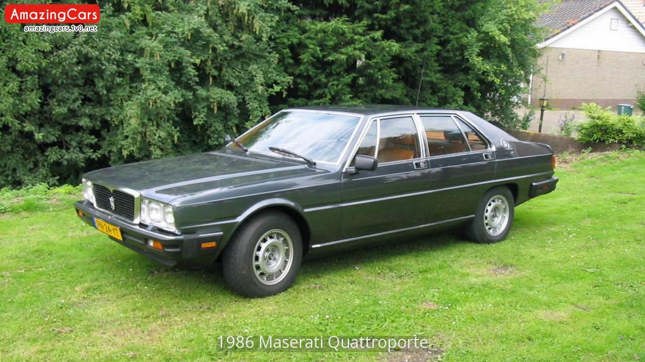 1986 maserati quattroporte