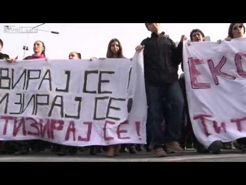 SKOPJE STUDENTS PROTESTS
