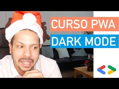 Curso PWA #20 - Habilitando suporte a Dark Mode em aplicações web