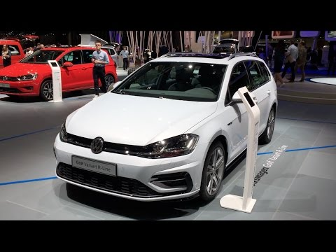 volkswagen golf variant r line 2017 in detail review. Black Bedroom Furniture Sets. Home Design Ideas