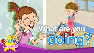 [what] What are you doing?(2)  - Exciting song - Sing along