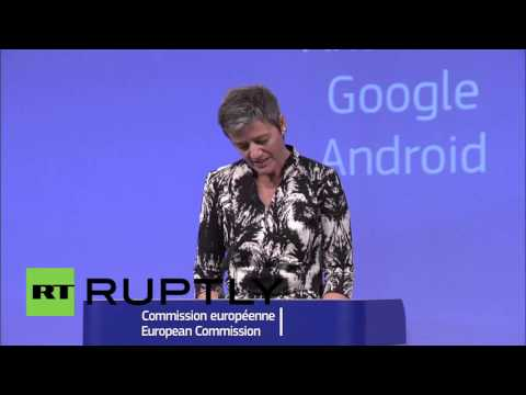 Belgium: Google charged with breaching EU antitrust law over Android