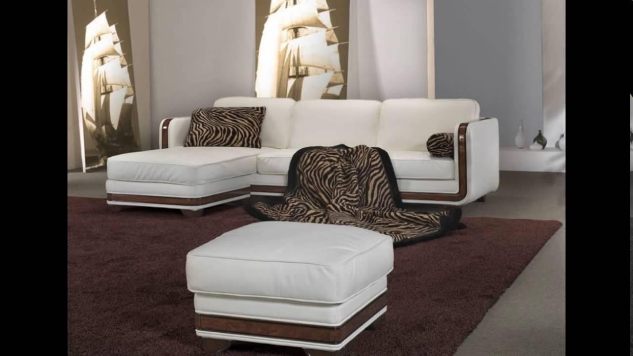 Угловые диваны для зала фото - YouTube