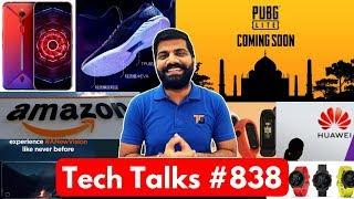 Tech Talks #838 - Mi Band 4, Asus 6Z Update, Galaxy A70s, PUBG Lite, Moto One Vision, Huawei Ban