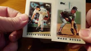1988 Topps League Leaders Mini Baseball Cards Review!