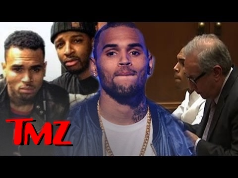 Chris Brown Parties on His Way Back to Rehab! | TMZ