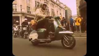 Carnaby Street Mods.Scooter Rally. 2nd May 2015. London England. 60