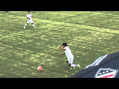 PDA U18s vs LA Galaxy Dec 2015 Showcase