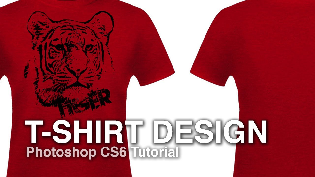 How to Design a T-shirt from a Photograph - Photoshop Tutorial - YouTube
