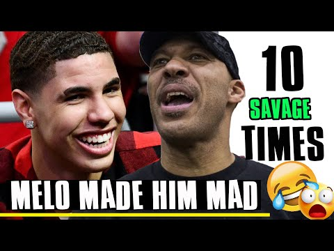 Lamelo : Top 10 Times He Made Lavar MAD!!!!!