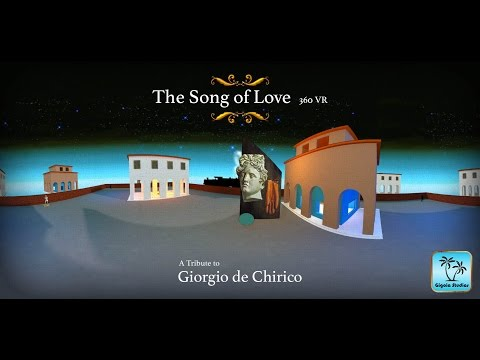 SURREALISTa #360video -  The Song Of Love  - Tribute to Giorgio de Chirico
