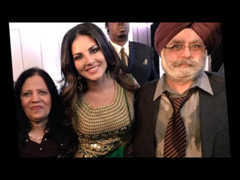 Actress Sunny Leone family