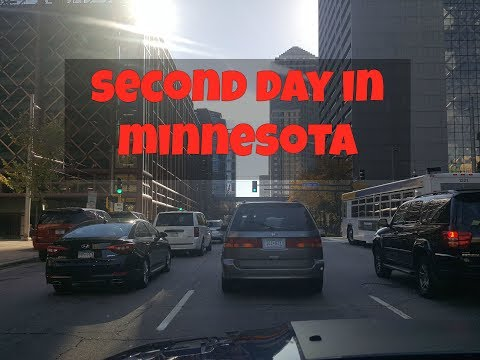 Second day in Minnesota
