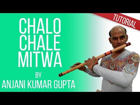 Chalo Chale Mitwa, In Unchi Nichi Raho Mien, Nayak,A R Rahman,Flute Piece Lesson,
