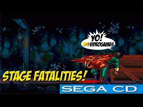 SEGA CD: Eternal Champions! Stage Fatalities! -YoVideogames