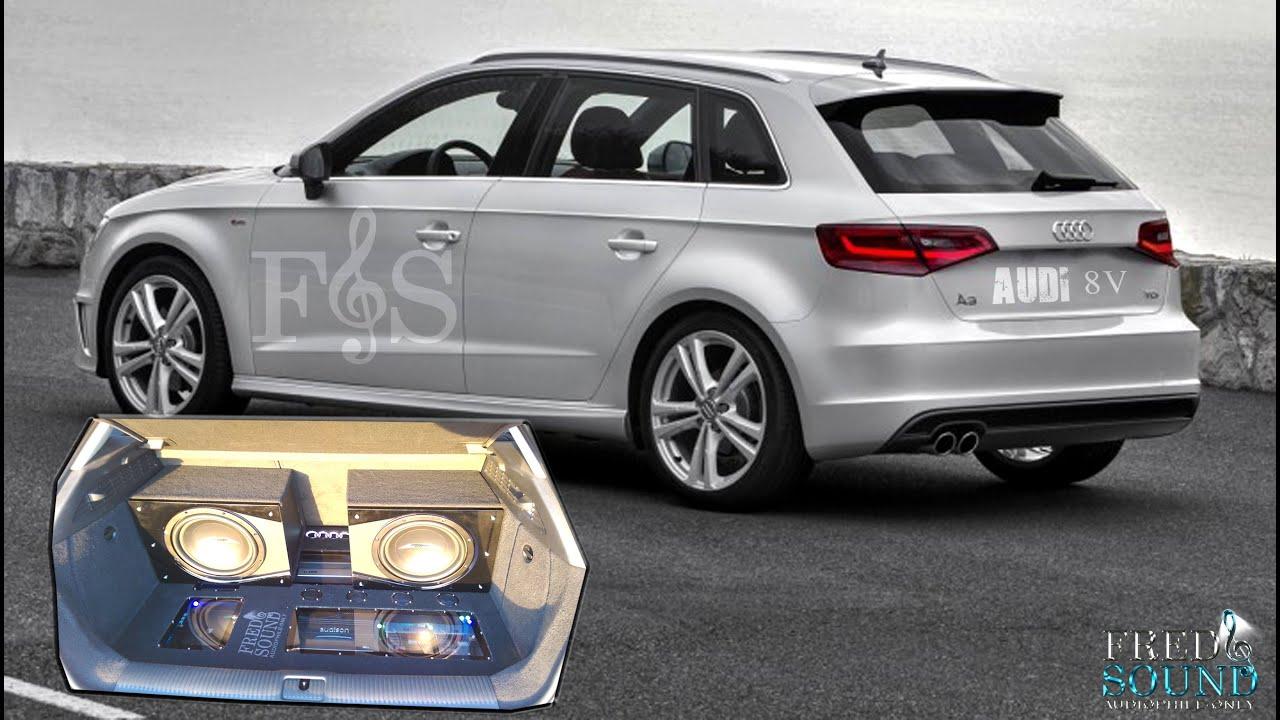 Audi A3 8V 2014 STEREO UPGRADE (Fred & Sound) - YouTube