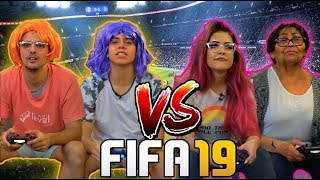 FIFA MUITO LOUCO! - MENINOS CONTRA MENINAS