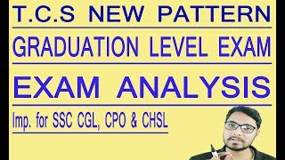 TCS New Exam Patter SSC Selection Post Graduation Level Exam Important for SSC CGL, CPO & CHSL.