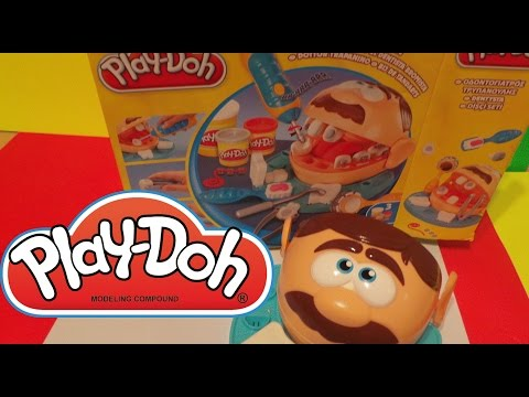 Play-Doh Dr Drill n Fill Dentist Playset Unboxing