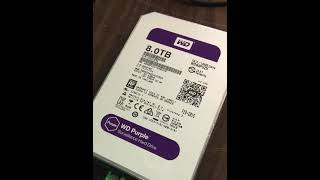 This is what a bad WD 8TB Hard Drive Sounds like