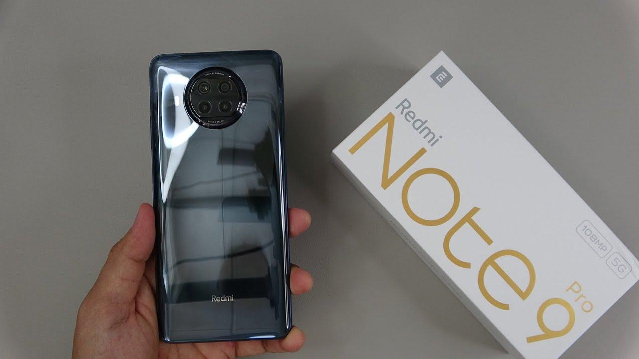 Xiaomi Redmi Note 9 Pro 5g Unboxing Camera Antutu Gaming Test Youtube