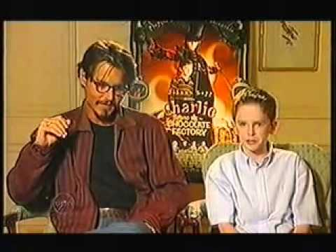 Johnny Depp and Freddie Highmore 2005