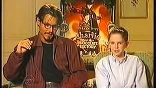 Johnny Depp and Freddie Highmore 2005