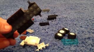 Лего самоделки: джип