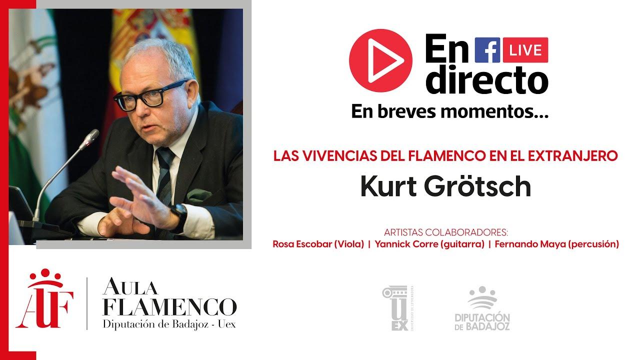 """II Aula de Flamenco. 2ª conferencia: """"Internacionalización del flamenco"""", por Kurt Grötsch"""