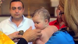 Клип с крещения. Армянская апостольская церковь